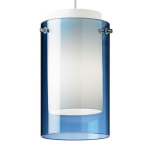"Mini Echo - 7"" 8W 1 LED Monorail Low-Voltage Pendant"