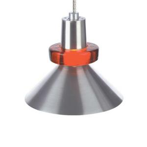Hanging Wok - One Light Monorail Low Voltage Pendant