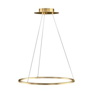 Vellavi 24 - 23.4 Inch 27.2W 1 LED Chandelier