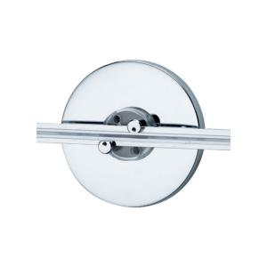 """Accessory - 4"""" Round Single Feed Wall Monorail Canopy"""