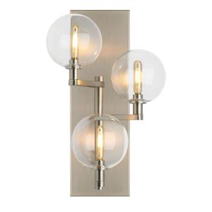 """Gambit - 17.5"""" Triple Wall Sconce with No Lamp"""