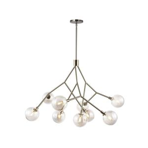 """Sycamore 9 - 37.65"""" Chandelier with No Lamp"""