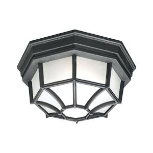 Essentials - One Light Outdoor Flush Mount