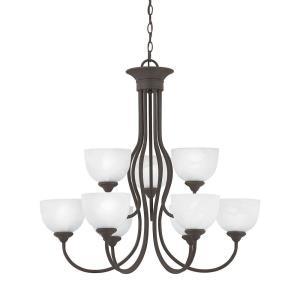 Tahoe - Nine Light 2-Tier Chandelier