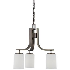 Pendenza - Three Light Chandelier