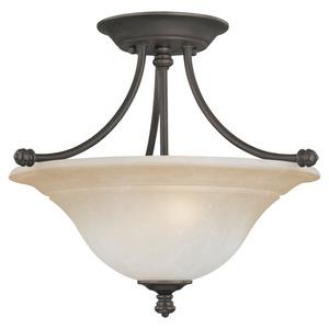 Harmony - Two Light Flush Mount