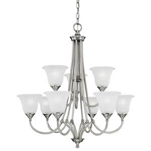 Harmony - Nine Light Chandelier