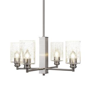 Edge - Four Light Chandelier