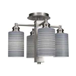 Edge - Four Light Semi-Flush Mount