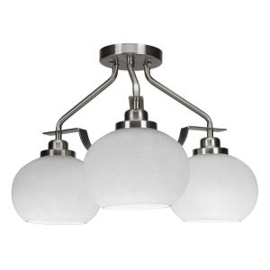 Odyssey - Three Light Semi-Flush Mount