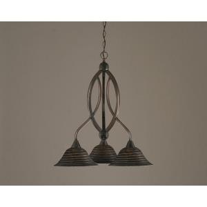 Bow - Three Light Chandelier