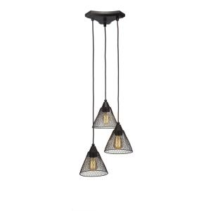 "Europa - 14.5"" 15W 3 LED Mini Pendant"