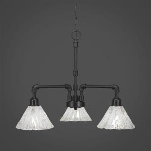 "Vintage - 7"" Three Light Chandelier"