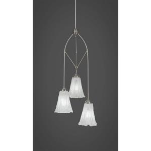 Contempo - Three Light Mini Pendant With Hang Straight Swivel