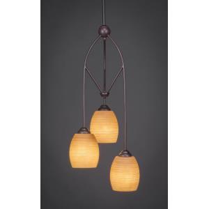 Contempo - Three Light Mini-Pendant