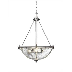 Uptowne - Three Light Bowl Pendant