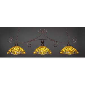 Curl - Three Light Billiard