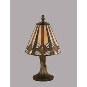 """One Light 7.00"""" Mini Table Lamp"""