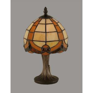 """One Light 7.25"""" Mini Table Lamp"""