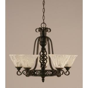 Elegante - Five Light Chandelier