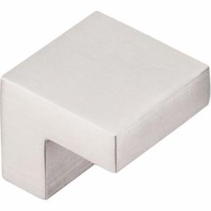 Nouveau III Collection 0.375 Inch Square Cabinet Knob