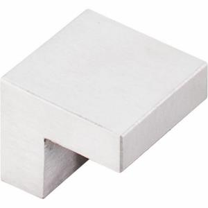 Stainless Collection 0.38 Inch Square Cabinet Knob