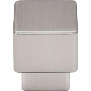 Sanctuary Collection 1 Inch Tapered Square Cabinet Knob