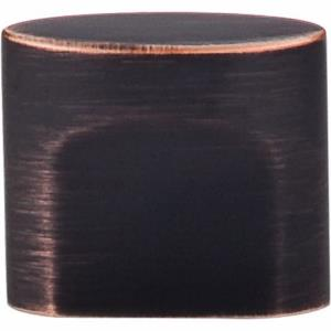 Sanctuary Collection 0.38 Inch Small Oval Slot Cabinet Knob
