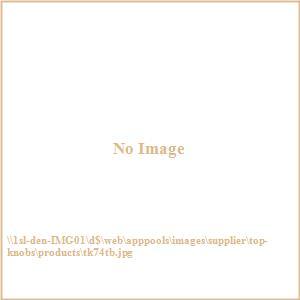 Sanctuary Collection 0.625 Inch Medium Oval Slot Cabinet Knob