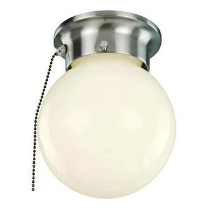 Idlewyld - One Light Flush Mount with Pull Chain