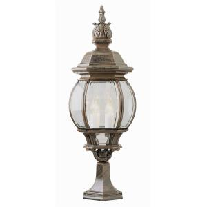 Classic - Four Light Large Pier Mount