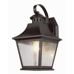 Classic - One Light Outdoor Small Wall Bracket