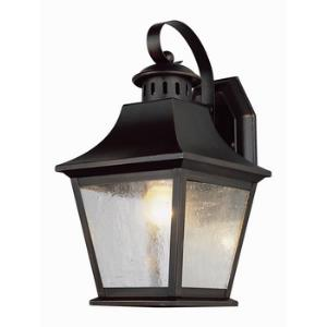 Classic - One Light Outdoor Medium Wall Bracket