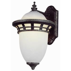 One Light Small Outdoor Wall Lantern