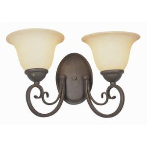 New Century - Two Light Wall Sconce