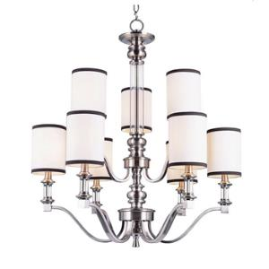 Two Tier Nine Light Chandelier