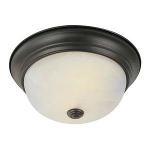 """Standard - Two Light 11"""" Flush Mount"""