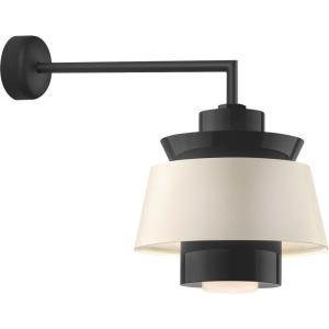 """Aero - 16"""" 18W 1 LED Multi Shade Wall Sconce with Miter Arm"""