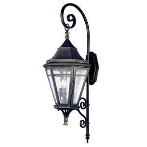 Morgan Hill - Three Light Outdoor Large Wall Lantern