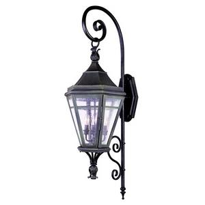 Morgan Hill - Four Light Outdoor Large Wall Lantern