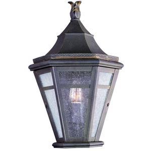 Morgan Hill - One Light Outdoor Medium Pocket Wall Sconce