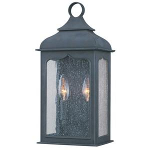 Henry Street - Two Light Outdoor Small Pocket Wall Sconce