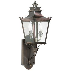Dorchester - Two Light Outdoor Small Wall Lantern