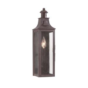Newton - One Light Outdoor Small Pocket Wall Sconce