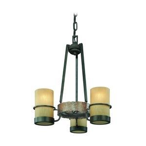 Bamboo - Three Light Chandelier