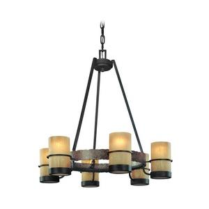 Bamboo - Six Light Chandelier