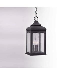Henry Street - Three Light Outdoor Medium Hanging Lantern