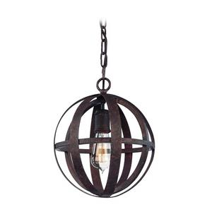 Flatiron - One Light Small Pendant