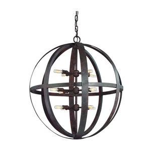 Flatiron - Twelve Light Extra Large Pendant