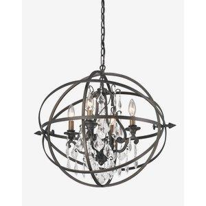 Byron - Four Light Medium Chandelier